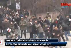 Ankara Üniversitesinde kavga