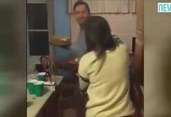 Suratına pasta yapıştırma şakasını abartan adam