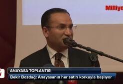 Anayasa toplantısında Bakan-Yargıtay Başkanı gerilimi
