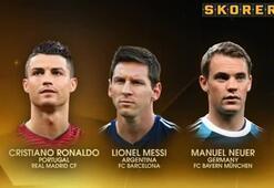 FIFA Ballon dOr ödülü Ronaldonun