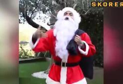 Barçalı yıldız Noel baba oldu