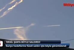 İsrailden Şama füzeli saldırı