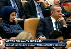 Alatlı konuştu, Emine Erdoğan gözyaşlarını tutamadı