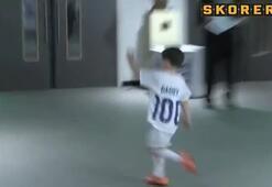 Rooney oğlunu taklit etti