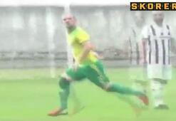 Malatyalı Sneijder aslını aratmadı...