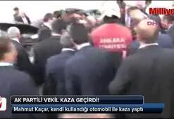 Ak Parti Şanlıurfa Milletvekili Mahmut Kaçar trafik kazası geçirdi