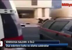 Sinagoga baltalı, silahlı saldırı: 4 ölü