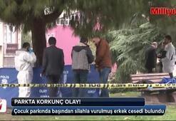 Çocuk parkında tek kurşunla infaz