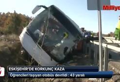 Eskişehirde korkunç kaza