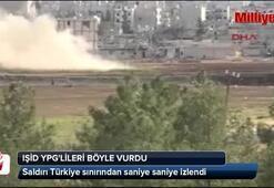 IŞİD, YPGlileri böyle vurdu