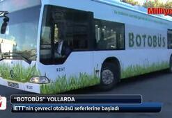 İETTnin çevreci otobüsü Botobüs seferlerine başladı