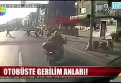 İstanbulda otobüs gerilimi