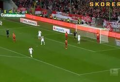Bundesligada inanılmaz an
