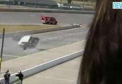 Antika arabayla yarış pistine çıkınca...