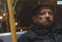 Belediye otobüsünde sapık şoku