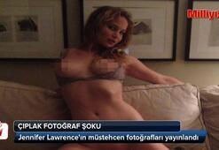 Jennifer Lawrenceın çıplak fotoğrafları yayınlandı