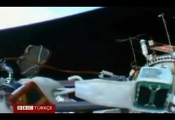 Rus kozmonotların uzay yürüyüşü
