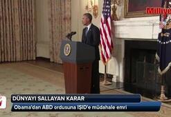 Obamadan ABD ordusuna IŞIDe müdahale emri