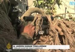 Hamasın tünelleri görüntülendi