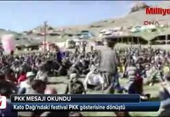 PKK mesajı okundu