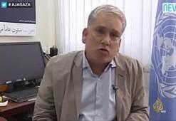Gazze'yi gören BM sözcüsü ağladı