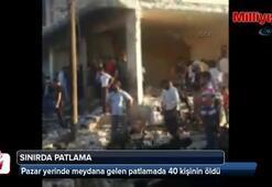Türkiye sınırında patlama: 40 ölü