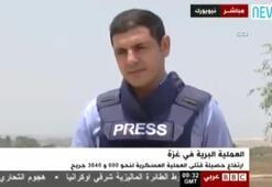 Fanatik İsrailli, canlı yayında BBC muhabirine saldırdı