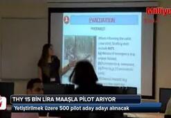 THY 15 bin lira maaşla pilot arıyor