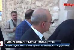 Maliye Bakanı Mehmet Şimşek Hasankeyfte