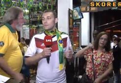 Almanya forması giyen muhabirin dramı