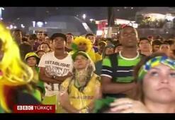 Brezilyalılar tarihi yenilgiyi nasıl izledi
