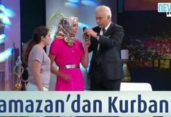 Canlı yayında Müslüman oldu