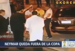 Şok Neymar turnuvayı kapattı
