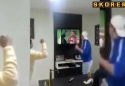 Penaltı kurtarışı televizyonu kırdırdı