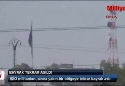 IŞİD tekrar bayrak astı