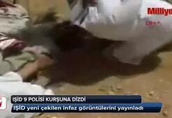 IŞİD 9 polisi kurşuna dizdi
