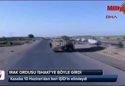 Irak ordusu İshakiyi geri aldı