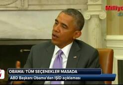 Obama: Tüm seçenekler masada