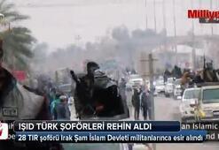 IŞID, Türk şoförleri rehin aldı