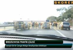 Brezilyada trafik çilesi