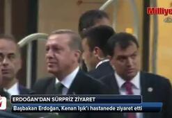Erdoğan Kenan Işıkı hastanede ziyaret etti