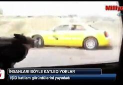 IŞİD katliam görüntülerini yayınladı