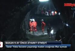 Bakan 9 ay önce o madende iftar açmıştı