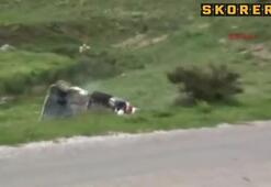 Türkiye Rallisinde inanılmaz kaza