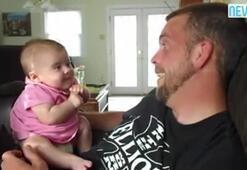 I love you diyen 2 aylık bebek
