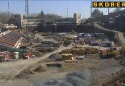 Vodafone Arena Stadı'nın inşaatı hızla sürüyor