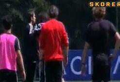 Beşiktaş antrenmanında kavga