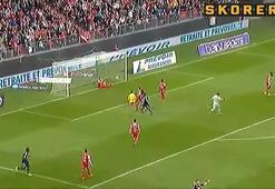 Beşiktaşın gözdesinden şık gol