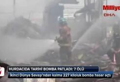 Tarihi bomba patladı: 7 ölü
