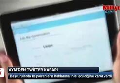 'Twitter yasağı ifade  özgürlüğüne aykırı'